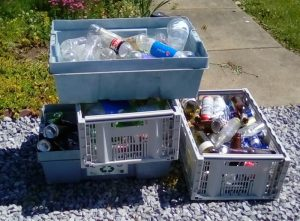 Road Cleanup Recyclables